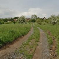 Hradiště Pravý Hradec - cesta do Klecan