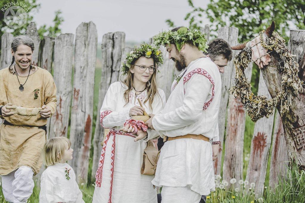 Slovanská svatba - námluvy