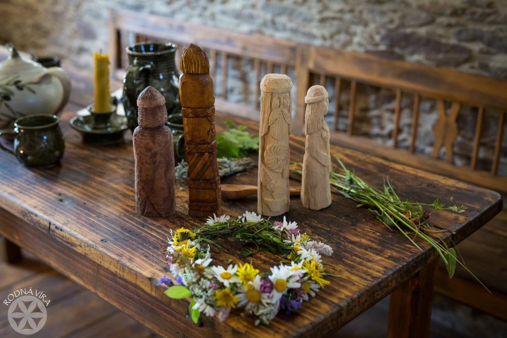 Slovanská svatba - přípravy