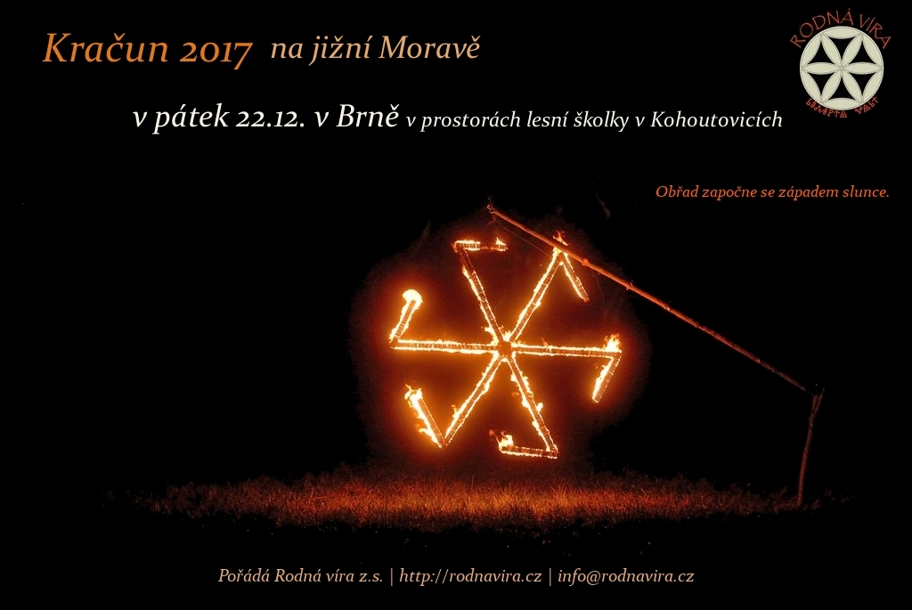 Pozvánky na Kračún na jižní Moravě
